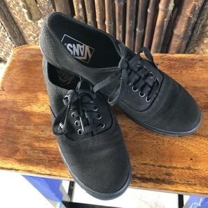 Vans Lace Up Sneakers
